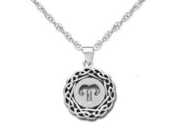 Keltische Waage Sternzeichen Massivem 925 Sterling Silber Etsy