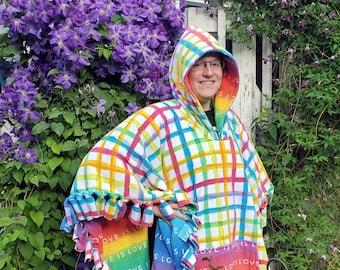 Tie Blanket Poncho