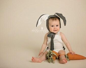 ef1eaf5bf20 Easte Romper and Bunny hat