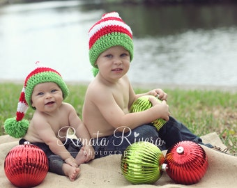 ad6ea593cd2 Handmade Kids Santa Hat in Your Choice of Colors