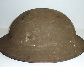 56108ed8b2e69 WWI doughboy helmet original piece