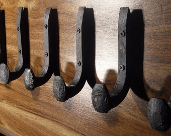 Free Shipping 6 Antique Horse Tack Hooks Old Railroad Spikes Heavy Duty Stable Barn Shoe Hangers Strong Antique Wall Hooks Railroad Spikes