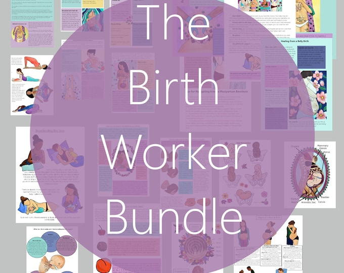 DIGITAL Birthworker Bundle/ Childbirth Education/ Breastfeeding / Postpartum Support/ Lactation/ Doula