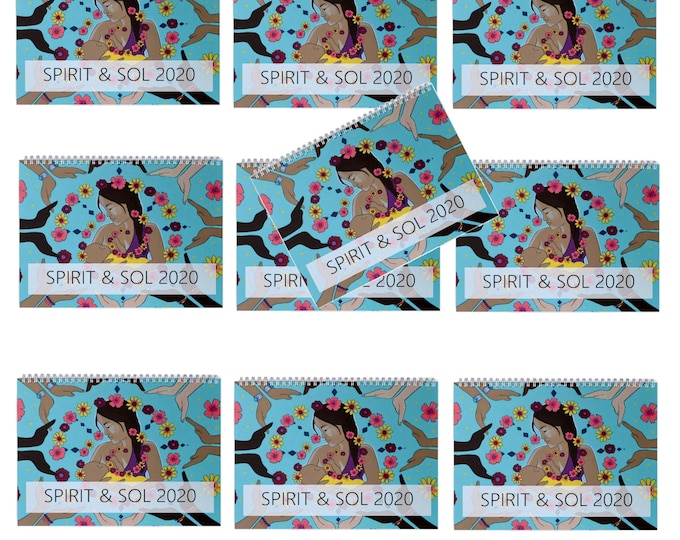 PRESALE Wholesale 2020 Spirit&Sol Calendar/ Birth Art Calendar