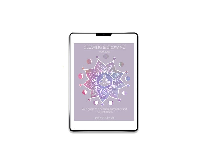 DIGITAL Glowing & Growing Ebook and Eworkbook