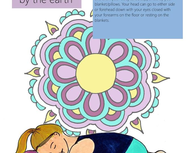 Prenatal Yoga Slides/ Set 1/ Slides 1-5/ PDFs/ Yoga Instructor/Midwife/ Doula/ Birth Education