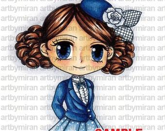 Digital Stamp - Classy Cheryl(#308)