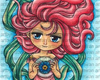 Digital Stamp - Goddess Anthea(#311)
