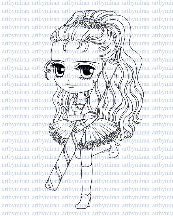Digital stamp its my party digi stamp coloring page etsy for Selling coloring pages on etsy