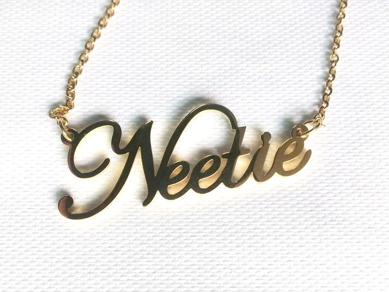 Personalized name necklace  Customized your name jewelry   Birthday gift  Gift for her