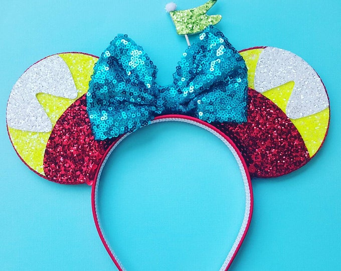 Tweedle Wonderland Mouse Ears Headband | Mouse Ears | Alice | Headband Minnie Ears | Mouse Ears | Wonderland