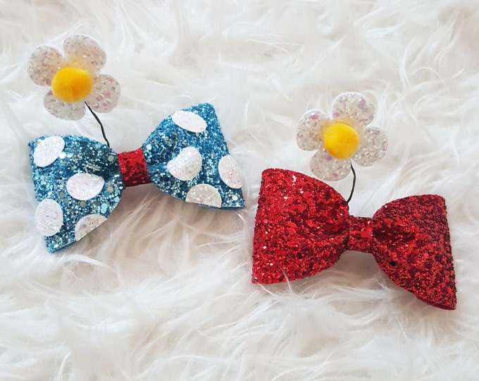 Vintage Minnie Inspired Bow Clip or Headband |  Bow | Classic Mouse