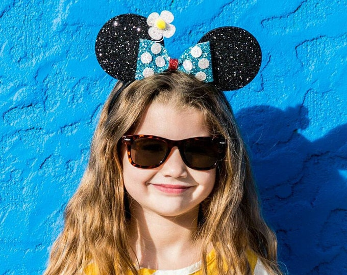 Classic  Mouse Ears Headband | Mouse Birthday | Mouse Headband