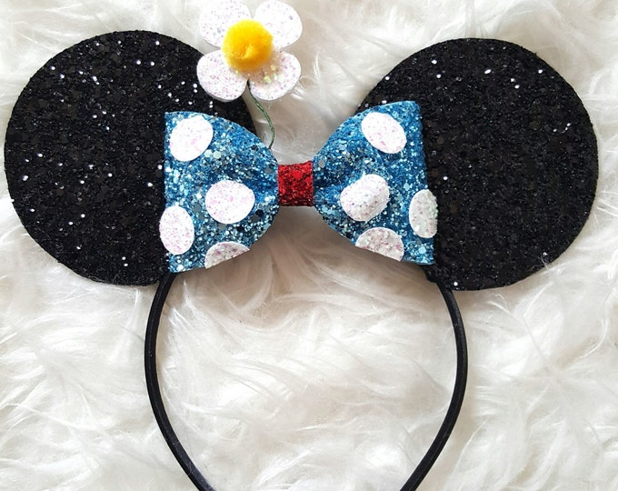 Classic Mouse Ears Headband || Mouse Birthday || Mouse Headband  || Ears