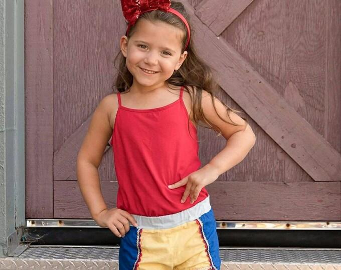 Snow White Red Sequin Red Bow Headband | Headband | Birthday | Cake Smash | 1st Birthday | Baby Girl Birthday  | Christmas Headband