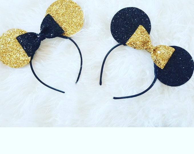 Minnie Mouse Ears Headband | Minnie Mouse Birthday | Minnie Mouse Headband | Minnie Ears