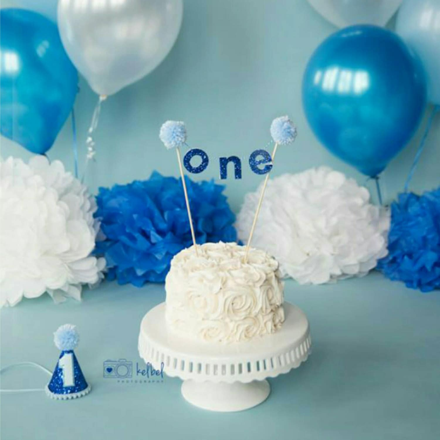 Birthday Boy One Cake Banner