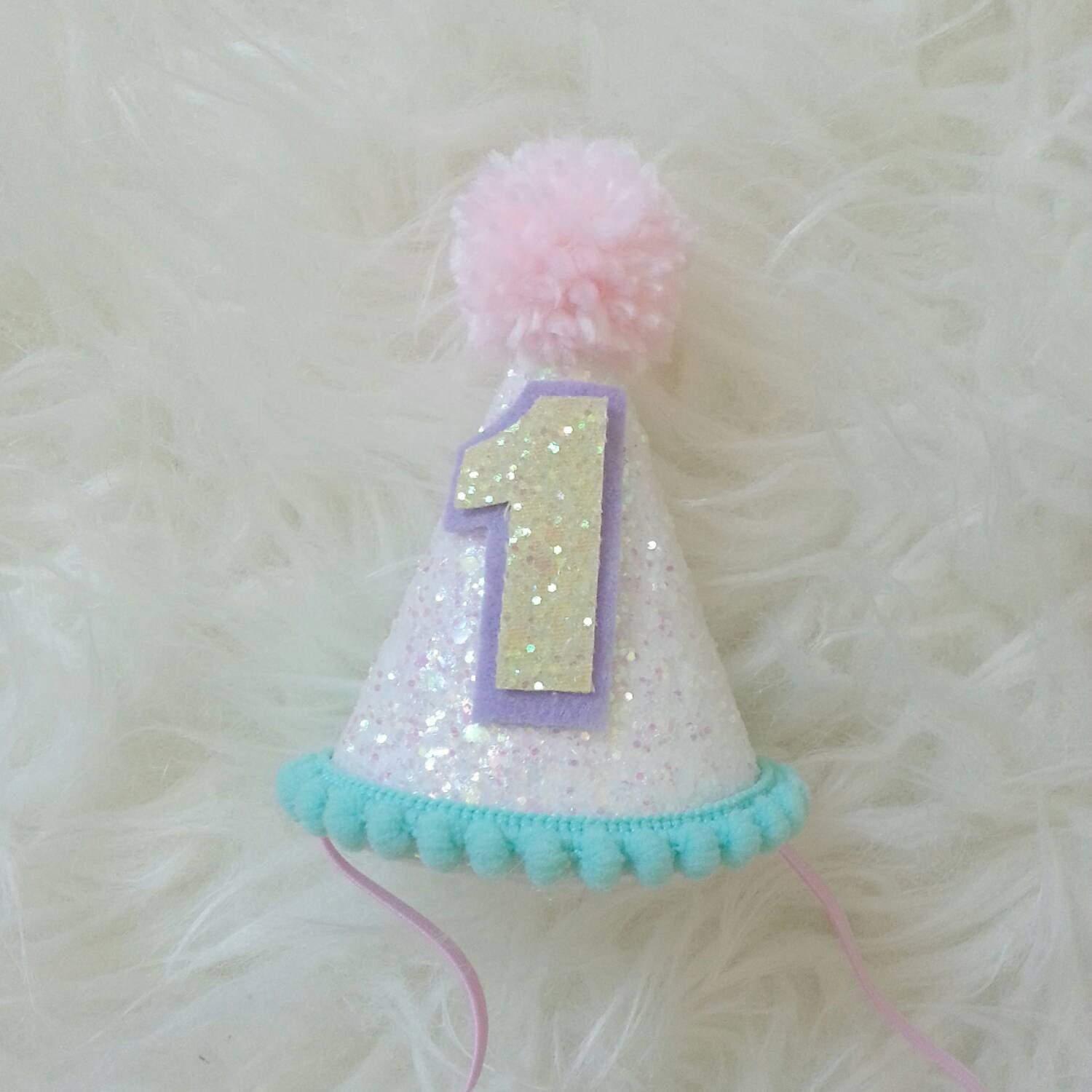 Birthday Hat Unicorn Theme