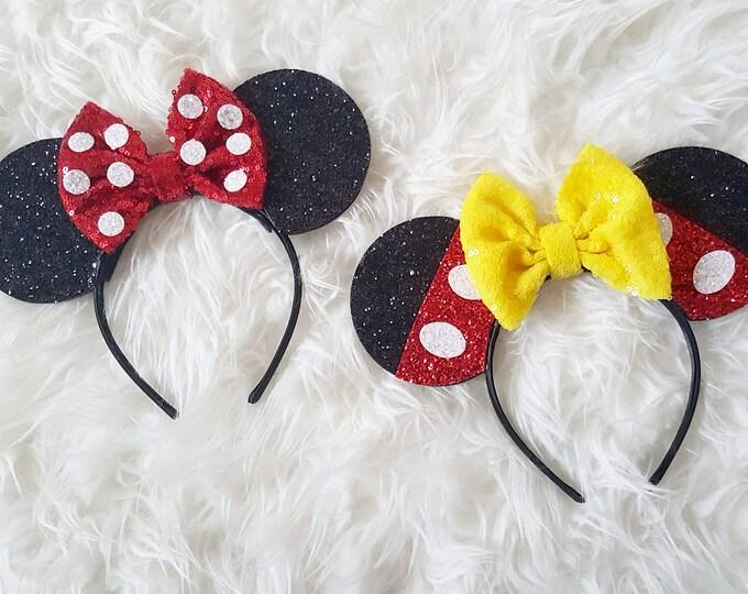 Mouse Ears Headband |Mouse Ears Headband Ears | Mouse Ears |