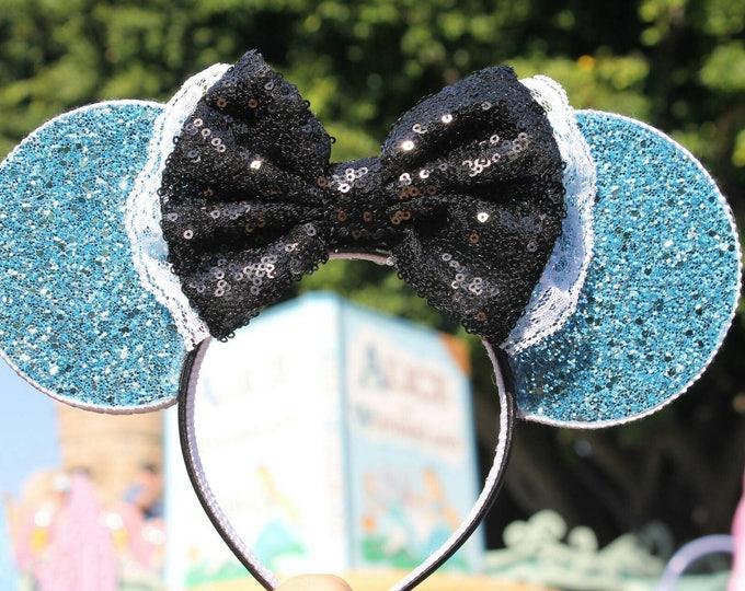 Alice  Mouse Ears Headband | wonderland Mouse Ears | Alice | Headband Ears | Mouse Ears | Wonderland