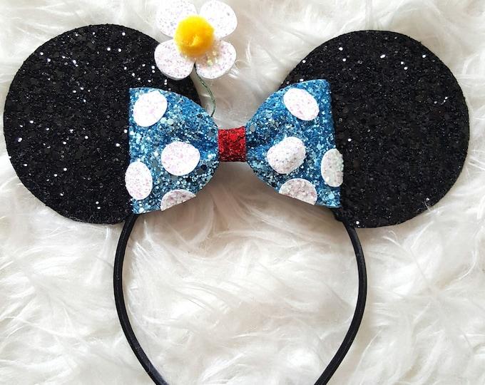 Classic Mouse Ears Headband || Mouse Birthday || Mouse Headband  || Ears