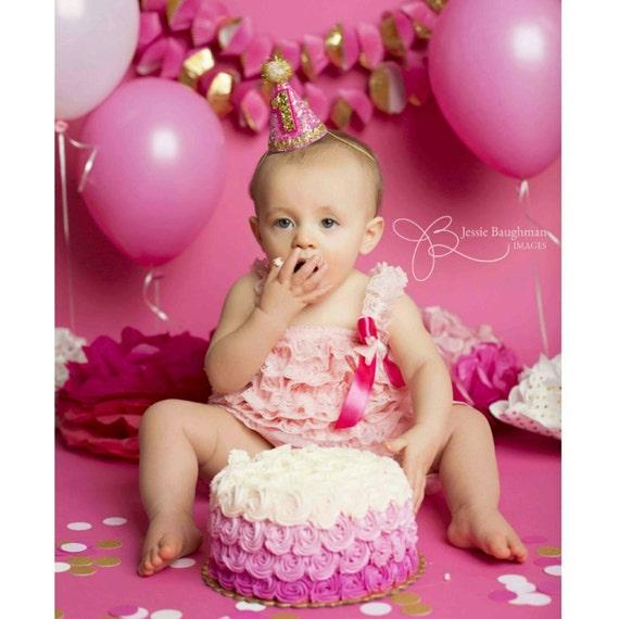 Admirable Mini Glittery Birthday Party Hat First Birthday Baby Etsy Funny Birthday Cards Online Hetedamsfinfo