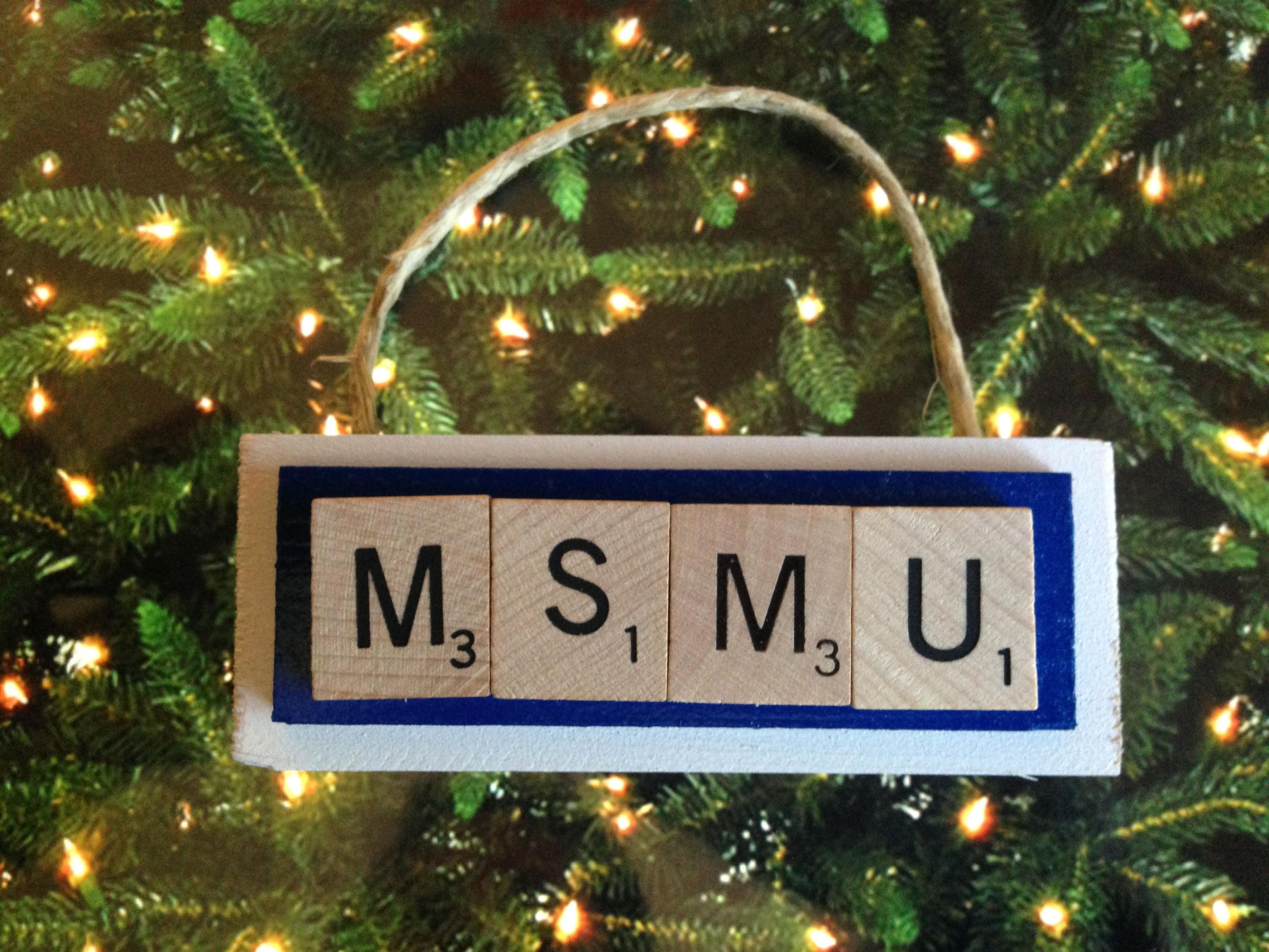 MSMU Mount ST Mary\'s University Mountaineers Christmas | Etsy