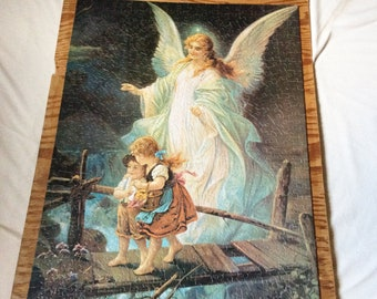Guardian Angel Children Bridge Etsy