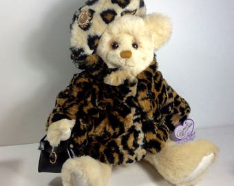 With Stand   Annette Funicello Collectible Bear Co Symbol Of The Brand Mickey Mouse Club