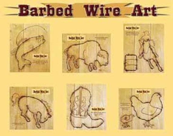 handmade metal barbed wire art decor chicken eggs western sculpture Rooster