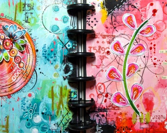 On-line class 8 - Art Journaling - with Kate Crane