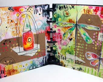 On-line class 10 - Art Journaling - with Kate Crane