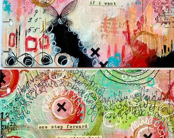 On-line class 4  - Art Journaling with Kate Crane (Recording now available to view)
