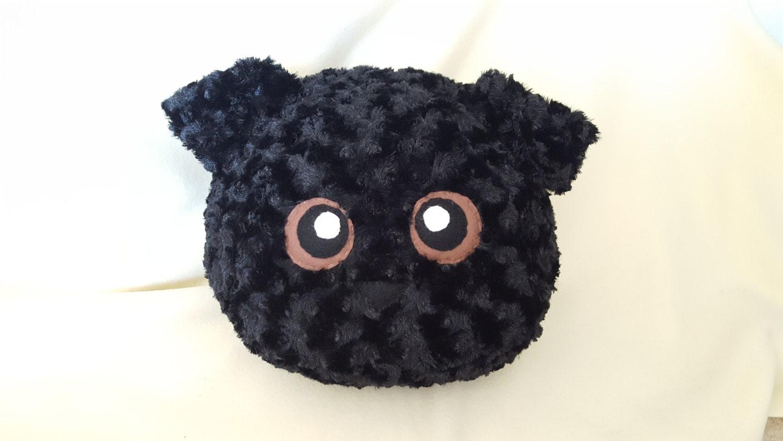 Black Lab Stuffed Animal Plushie Plush Etsy