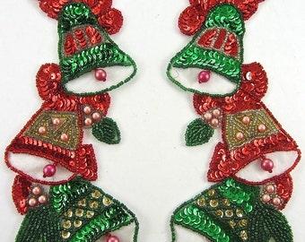 Christmas Hanging Bells Pair - JJX4118N-box21-0249