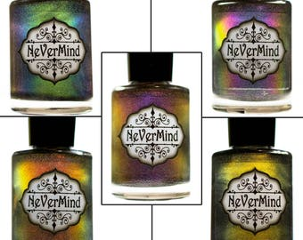 Daemonum Collection - Chameleon Holographic Nail Polish - Multichrome Holo Nail Lacquer