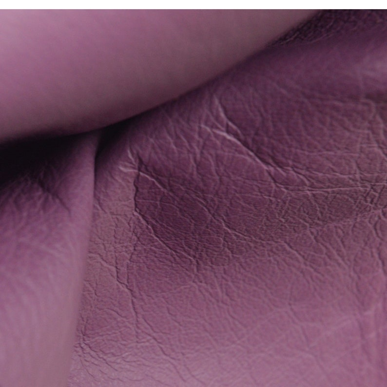 "Purple Halo Buffalo Embossed Leather Cow Hide 4/"" x 6/"" Pre-cut 3-4 ounces"