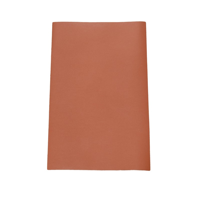 Journal Cover A5 Out of Sight Sienna Brown Twist /& Shout 14 x 8.75 Cowhide Leather 3 12-4 oz