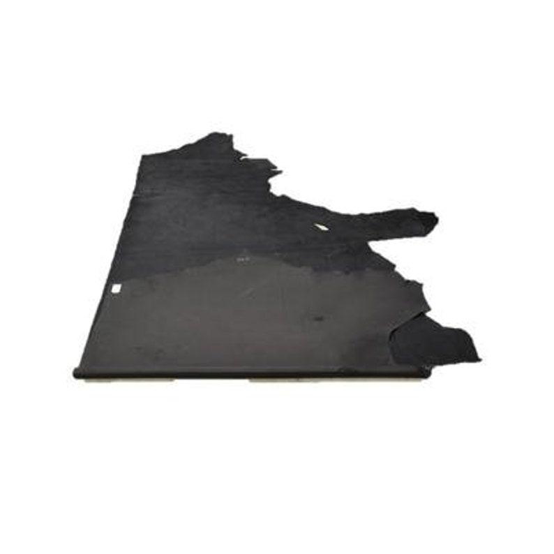 Metallic Black Stingray Fashionista 26.3 Sq Ft 3 oz Leather Cow Side