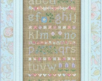 Pastel Alphabet Sampler by Elizabeth's Designs