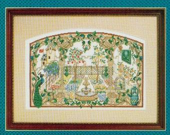 A Medieval Garden by Patricia Andrle, Counted Illuminations