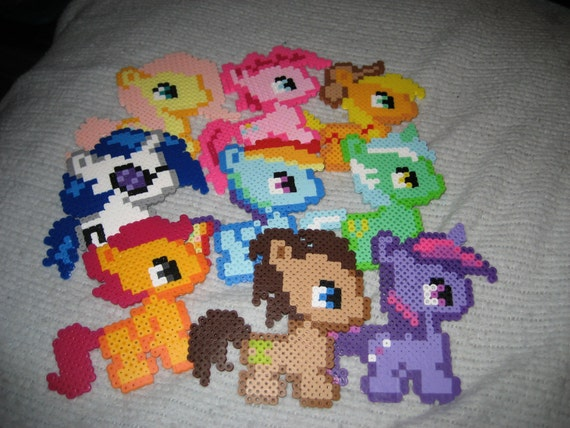 My Little Pony Perler Beads Etsy