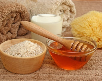1- 16 Ounce Oatmeal Milk & Honey Type Fragrance Oil for candle/soap making Free Shipping