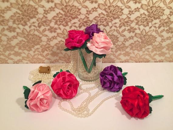 CUSTOM FLOWER PENS Birthday Gift Idea Women Wedding Guest Book  6cd459f77