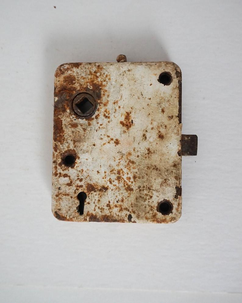 Antique Mortise Lock with Deadbolt  Vintage Door Hardware