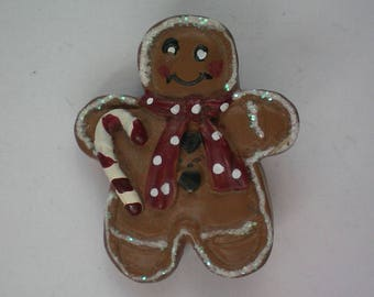 Ginger Bread Man Cookie Pin for Christmas Holidays - 5636
