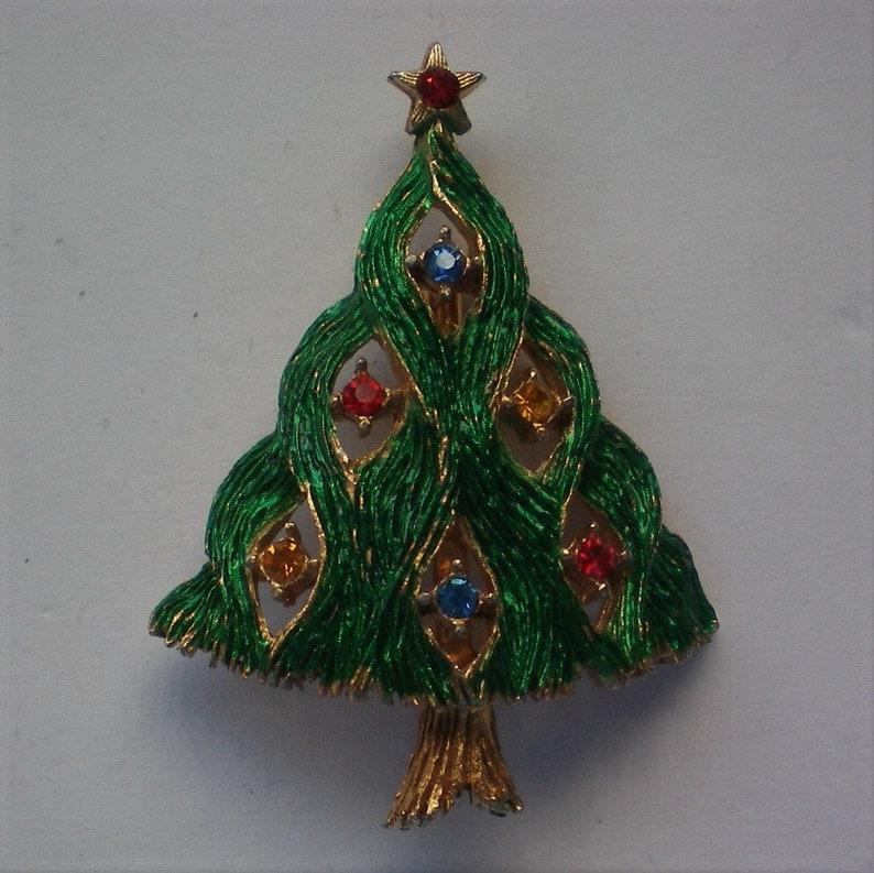 6123 Christmas Tree Pin by JJ