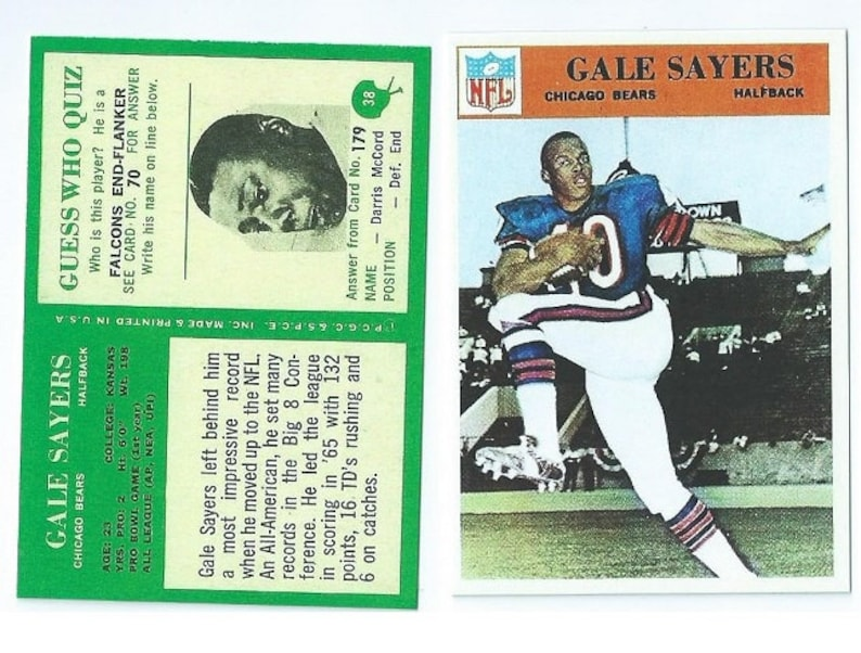 1976 Walter Payton Rookie Card Rp Perfect Condition And Hard To Find