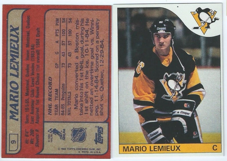 Verzamelkaarten: sport 1984-85 Topps Hockey you pick 10 picks $2.00 NM to Mint
