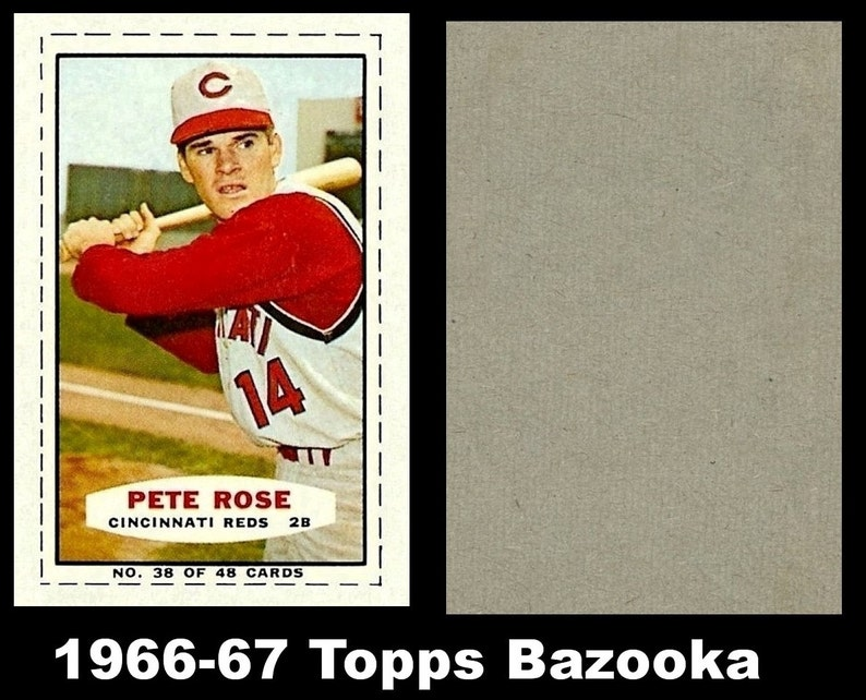 1966 Bazooka Pete Rose Rp